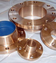Copper Nickel BS4504 PN6 orifice plate flanges