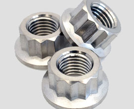 High-Strength 12-Point Flange Nuts