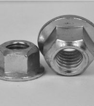 Lock And Metric Flange Nuts